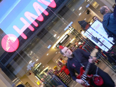 Gregor storms out of HMV